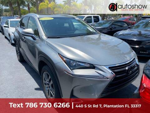 2016 Lexus NX 200t for sale at AUTOSHOW SALES & SERVICE in Plantation FL