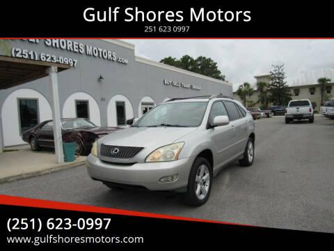 2007 Lexus RX 350 for sale at Gulf Shores Motors in Gulf Shores AL
