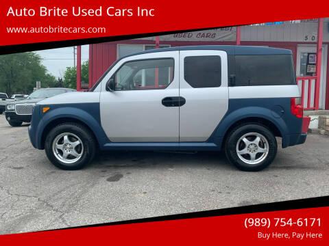 2006 Honda Element for sale at Auto Brite Used Cars Inc in Saginaw MI