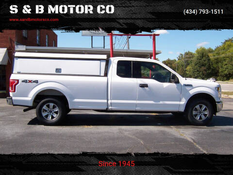 2016 Ford F-150 for sale at S & B MOTOR CO in Danville VA