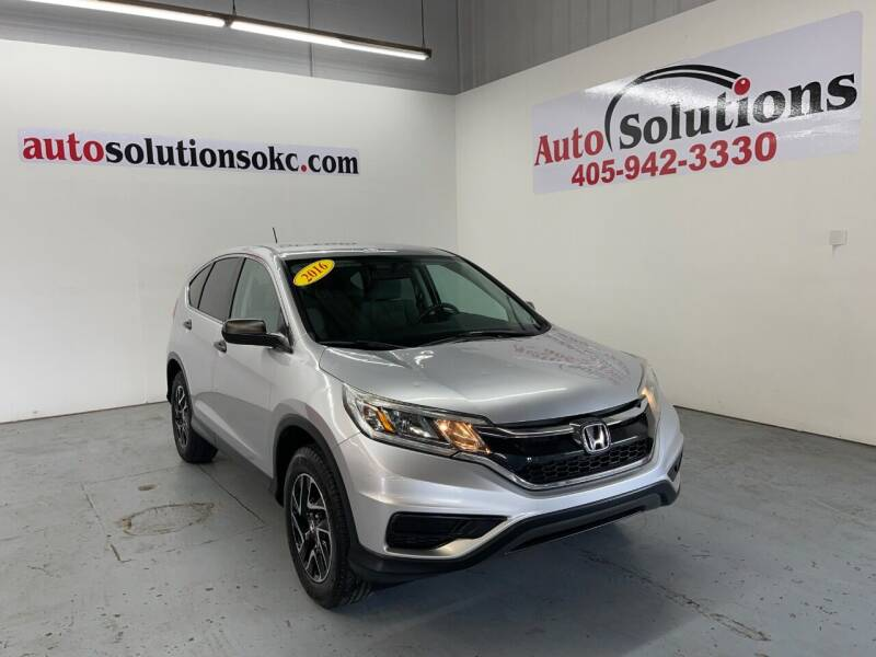 2016 Honda CR-V for sale at Auto Solutions in Warr Acres OK