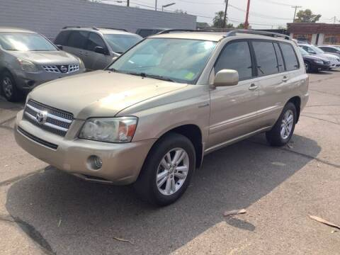 2007 Toyota Highlander Hybrid for sale at ALMOST NEW AUTO RENTALS & SALES in Mesa AZ