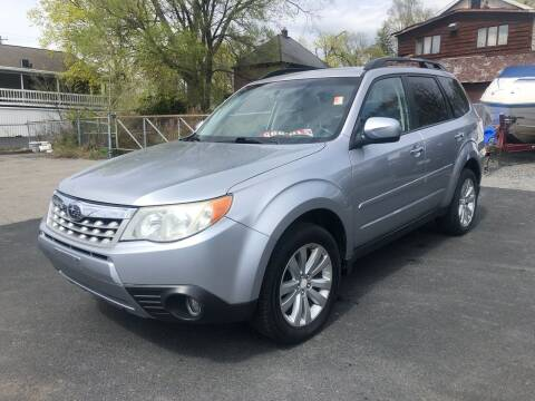 2012 Subaru Forester for sale at JB Auto Sales in Schenectady NY