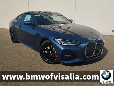 2021 BMW 4 Series for sale at BMW OF VISALIA in Visalia CA