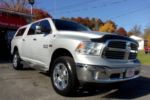 2017 RAM Ram Pickup 1500 for sale at Dave Franek Automotive in Wantage NJ