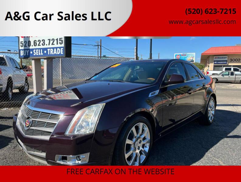 2009 Cadillac CTS for sale at A&G Car Sales  LLC in Tucson AZ