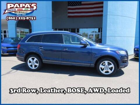 2014 Audi Q7 for sale at Papas Chrysler Dodge Jeep Ram in New Britain CT