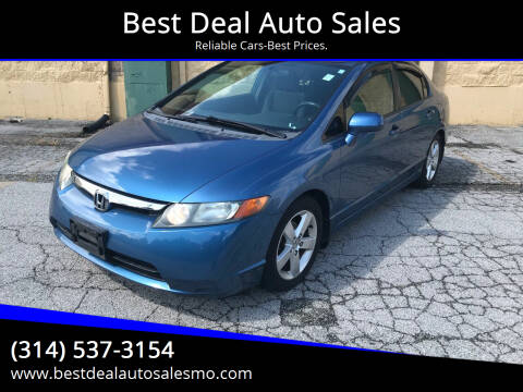 2007 Honda Civic for sale at Best Deal Auto Sales in Saint Charles MO