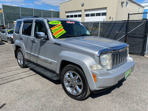 2008 Jeep Liberty for sale at Adams Street Motor Company LLC in Dorchester MA