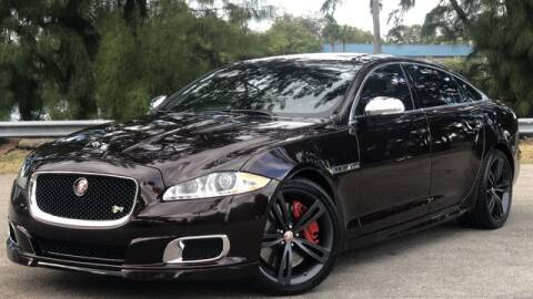 2014 Jaguar XJR for sale at Exclusive Impex Inc in Davie FL