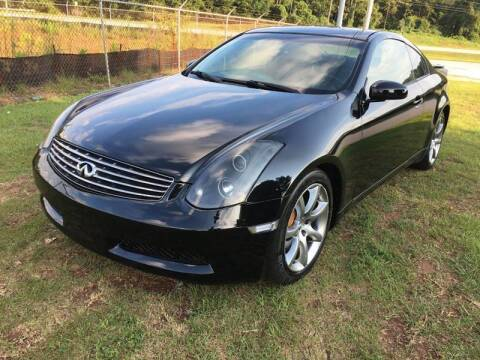 2004 Infiniti G35 for sale at Atlanta United Motors in Buford GA