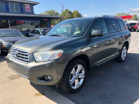 2009 Toyota Highlander for sale at Wise Investments Auto Sales in Sellersburg IN