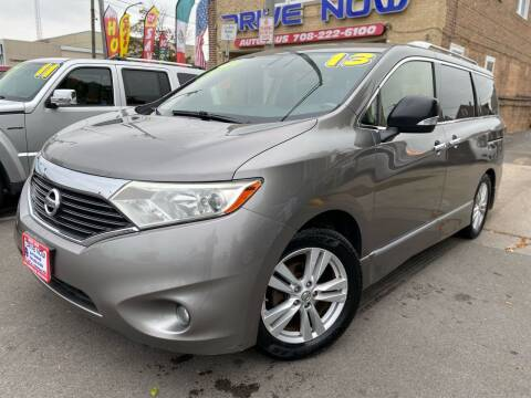 2013 Nissan Quest for sale at Drive Now Autohaus in Cicero IL
