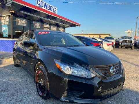 2018 Nissan Altima for sale at Cow Boys Auto Sales LLC in Garland TX