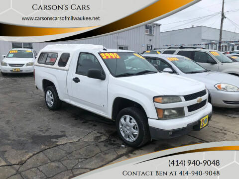 2009 Chevrolet Colorado for sale at Carson's Cars in Milwaukee WI