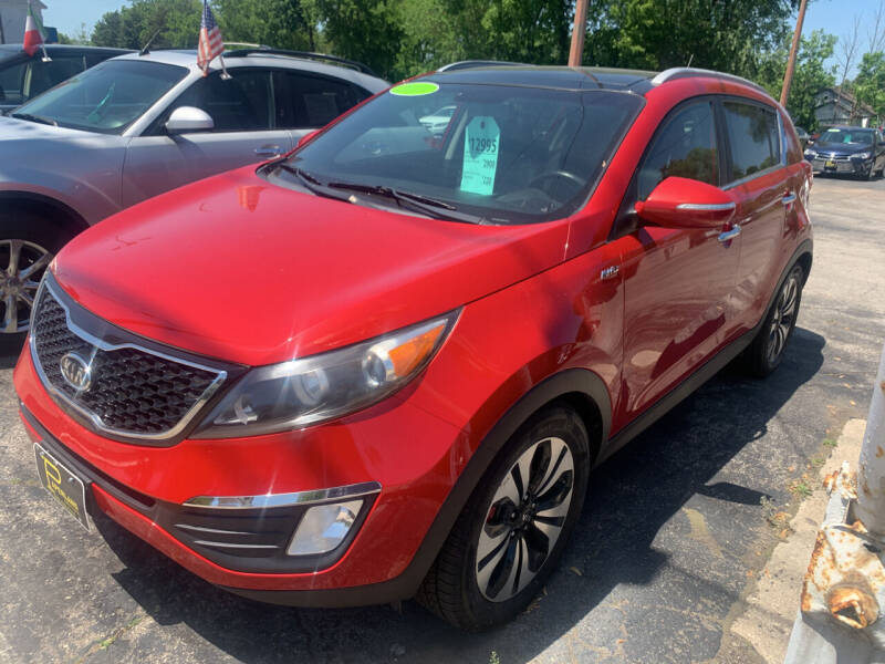 2011 Kia Sportage for sale at PAPERLAND MOTORS - Fresh Inventory in Green Bay WI