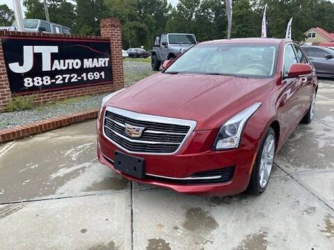 2015 Cadillac ATS for sale at J T Auto Group in Sanford NC