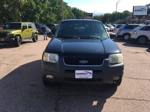 2004 Ford Escape for sale at Gordon Auto Sales LLC in Sioux City IA