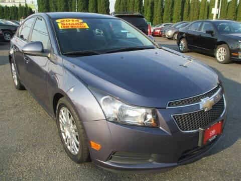 2014 Chevrolet Cruze for sale at GMA Of Everett in Everett WA