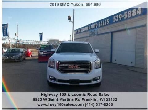 2019 GMC Yukon for sale at Highway 100 & Loomis Road Sales in Franklin WI