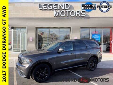 2017 Dodge Durango for sale at Legend Motors of Waterford in Waterford MI