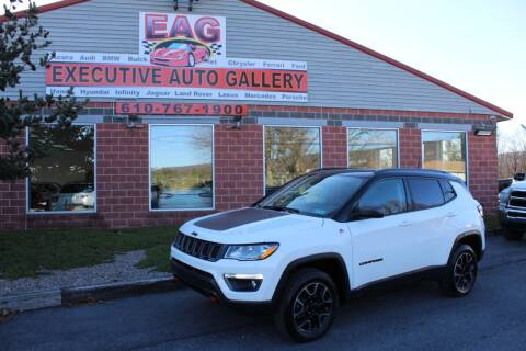 2019 Jeep Compass for sale at EXECUTIVE AUTO GALLERY INC in Walnutport PA