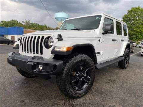 2021 Jeep Wrangler Unlimited for sale at iDeal Auto in Raleigh NC