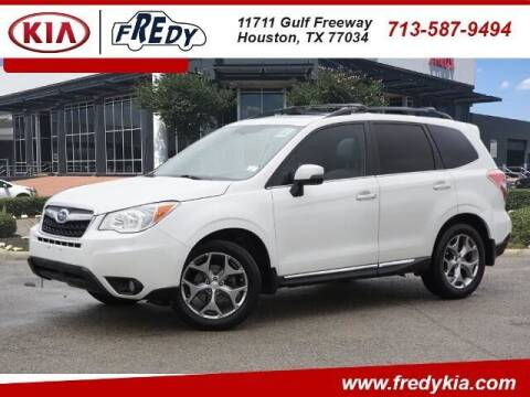 2016 Subaru Forester for sale at FREDY KIA USED CARS in Houston TX