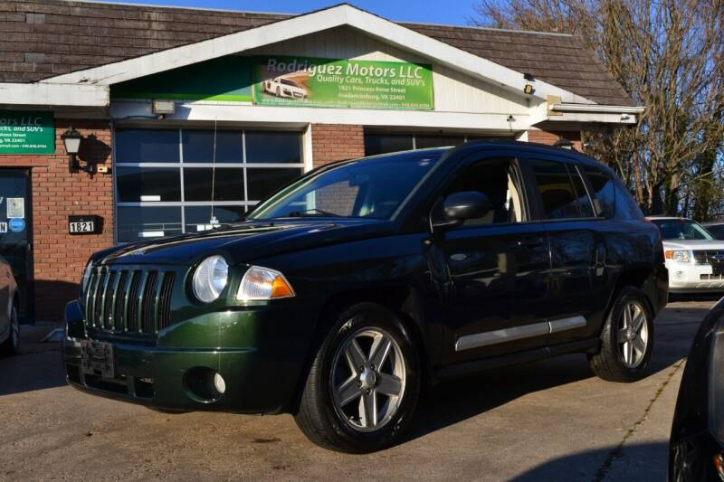 2010 Jeep Compass for sale at RODRIGUEZ MOTORS LLC in Fredericksburg VA