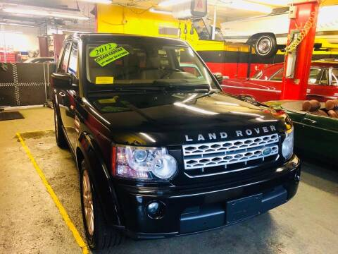 2012 Land Rover LR4 for sale at Milford Automall Sales and Service in Bellingham MA