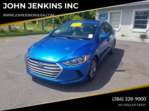 2017 Hyundai Elantra for sale at JOHN JENKINS INC in Palatka FL