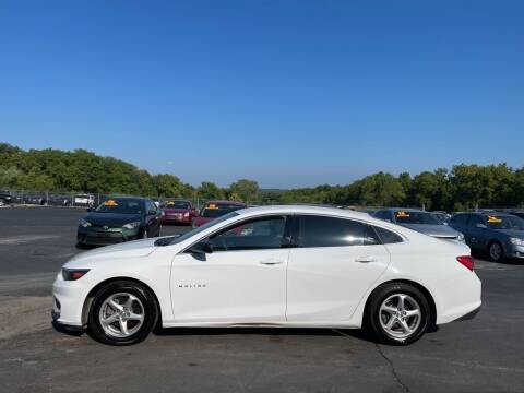2017 Chevrolet Malibu for sale at CARS PLUS CREDIT in Independence MO