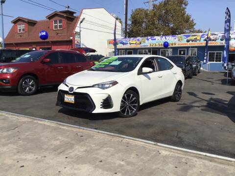 2017 Toyota Corolla for sale at LA PLAYITA AUTO SALES INC - 3271 E. Firestone Blvd Lot in South Gate CA