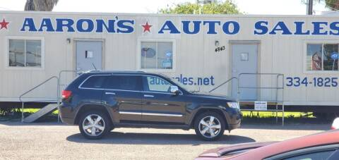 2012 Jeep Grand Cherokee for sale at Aaron's Auto Sales in Corpus Christi TX