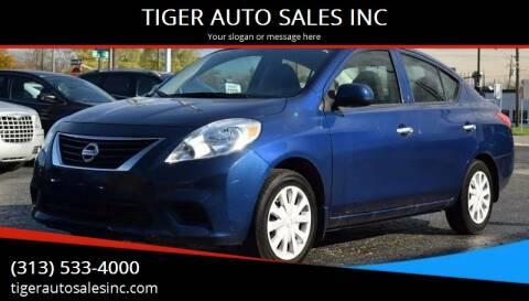 2014 Nissan Versa for sale at TIGER AUTO SALES INC in Redford MI