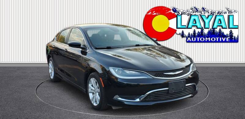 2016 Chrysler 200 for sale at Layal Automotive in Englewood CO