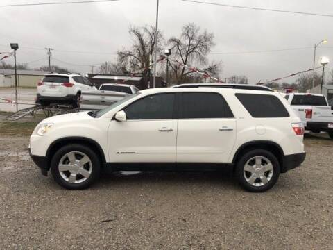 2008 GMC Acadia for sale at Bryans Car Corner in Chickasha OK