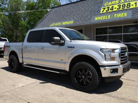 2015 Ford F-150 for sale at Kevin Lapp Motors in Plymouth MI