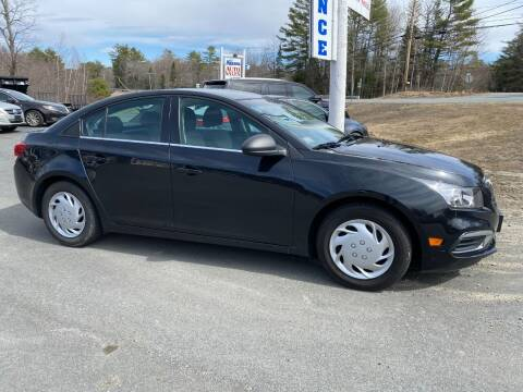 2016 Chevrolet Cruze Limited for sale at Mascoma Auto INC in Canaan NH