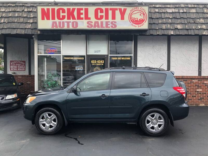 2009 Toyota RAV4 for sale at NICKEL CITY AUTO SALES in Lockport NY
