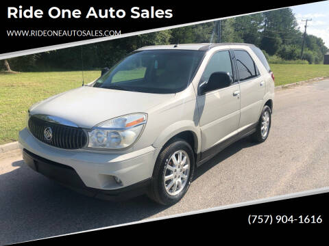 2006 Buick Rendezvous for sale at Ride One Auto Sales in Norfolk VA