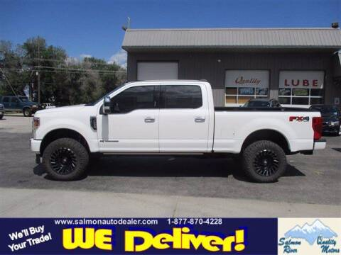 2020 Ford F-250 Super Duty for sale at QUALITY MOTORS in Salmon ID