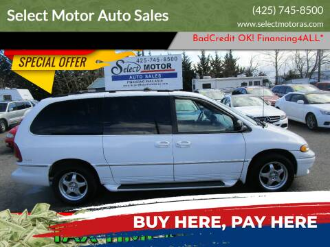 1996 Chrysler Town and Country for sale at Select Motor Auto Sales in Lynnwood WA