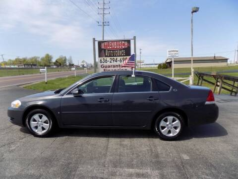 2008 Chevrolet Impala for sale at MYLENBUSCH AUTO SOURCE in O` Fallon MO