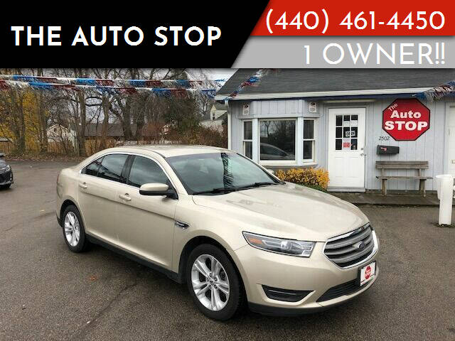 2017 Ford Taurus for sale at The Auto Stop in Painesville OH