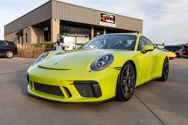 2018 Porsche 911 for sale at KIAN MOTORS INC in Plano TX