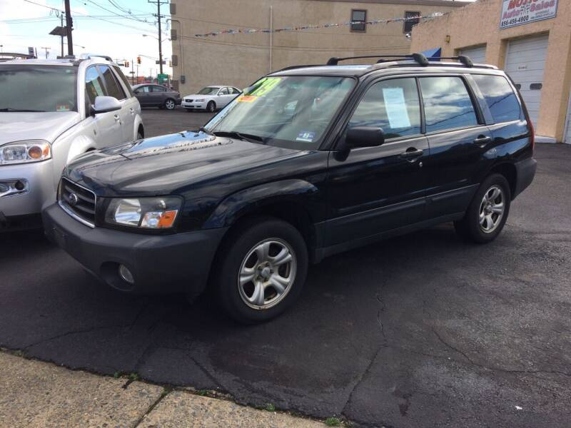 2005 Subaru Forester for sale at Motion Auto Sales in Collingswood Heights NJ