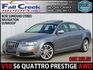 2010 Audi S6 for sale at Fall Creek Motor Cars in Humble TX