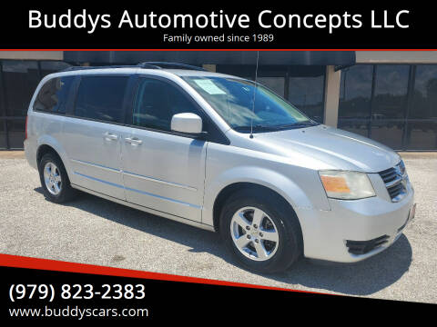 2010 Dodge Grand Caravan for sale at Buddys Automotive Concepts LLC in Bryan TX