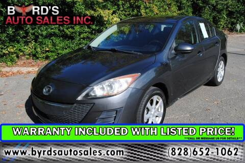 2010 Mazda MAZDA3 for sale at Byrds Auto Sales in Marion NC